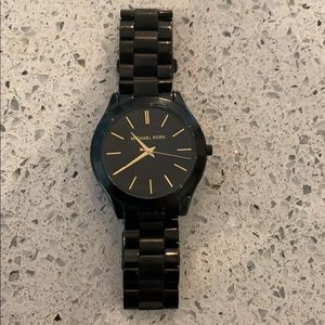 Michael kors watch- black